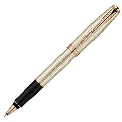 Ручка-роллер Parker Sonnet T535 VERY PREMIUM Feminine, (серебро 925 пробы, 16.96) цвет: Silver PGT, толщина пишущего узла: Fblk, 1859491