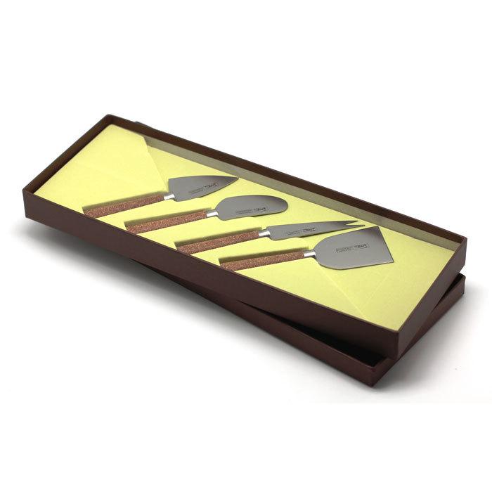 Набор ножей для сыра 4 предмета Cork, артикул 33079, производитель - Ivo