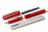 Перьевая ручка Lamy 016 Safari красный EF (4000178)