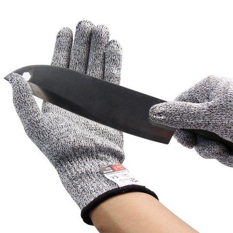 Японские тактические кевларовые перчатки от порезов и ожогов CROCH Anti-cut and heat resistant glover