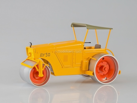 Roller DU-50 automotive three-roll yellow 1:43 Start Scale Models (SSM)