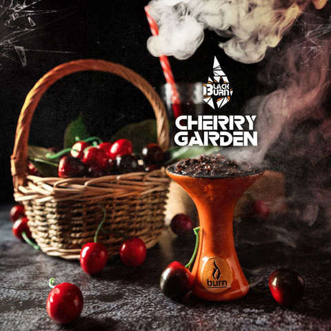 Табак Burn Black Cherry Garden 200 г