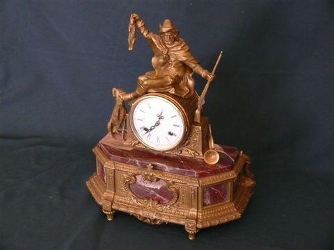 Часы Охотник с собакой