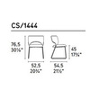 Calligaris CS_1444 P94 A02 — Стул DUFFY