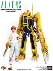 Aliens - Power Loader with Ellen Ripley Model Kit
