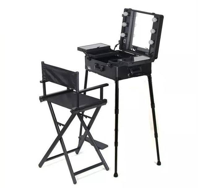 Мобильная студия визажиста + стул визажиста