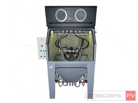 Пескоструйная камера PST КСО-110-И-М-М-ФВ с очистным барабаном