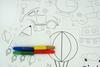 """026_2365 Набор (8 шт.) для пальчикового рисования """"Happy"""""""