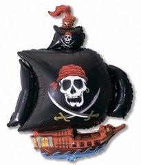 Пиратский корабль (черный) F 41