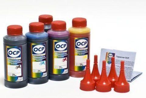 Комплект чернил OCP для картриджей Canon CLI-8/PGI-5 (BKP 44, BK 797, C 133, M/Y 122) 100 gr x 5