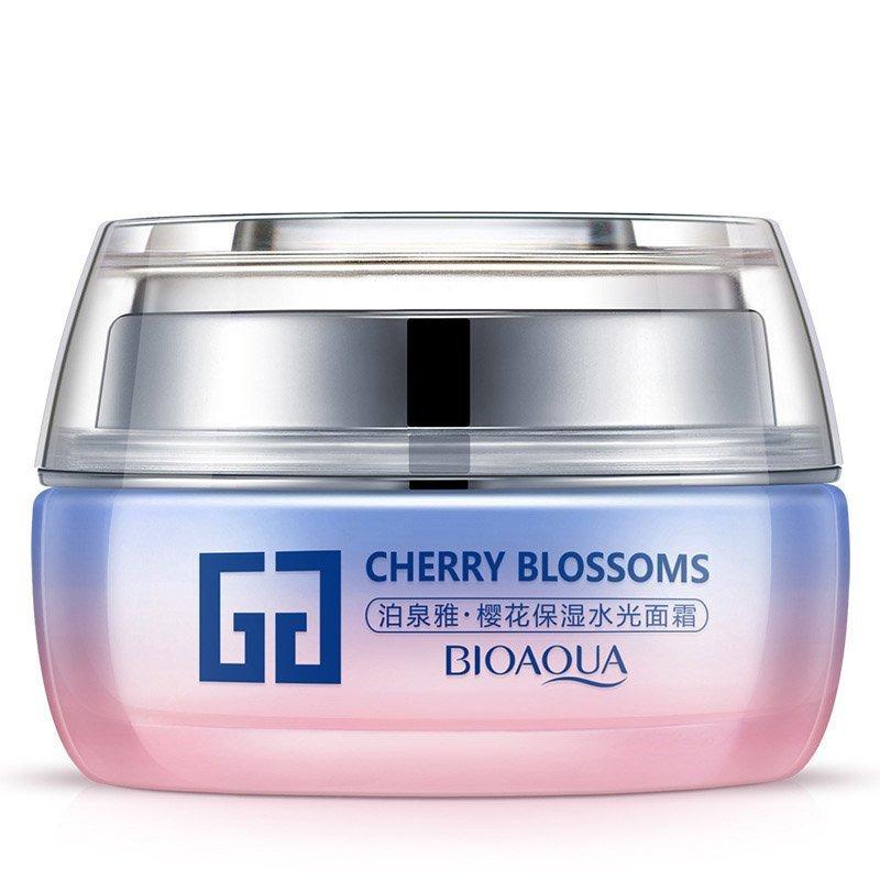 Bioaqua Крем для лица с сакурой Cherry Blossoms Moist Facial Cream, 50 г
