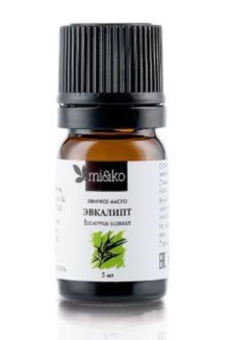 Мико эфирное масло Эвкалипт шаровидный органик 5 мл