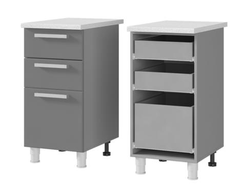 Шкаф-стол с 3-мя ящиками (400*820*600) 4Р3