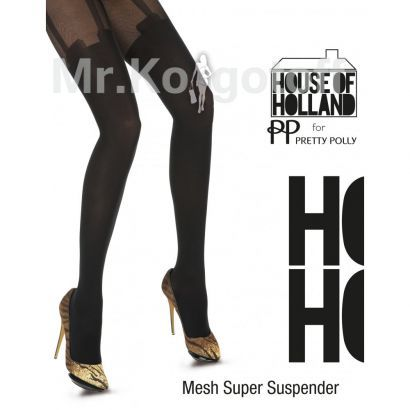 Колготки House Of Holland Mesh Super Suspender (APT8)