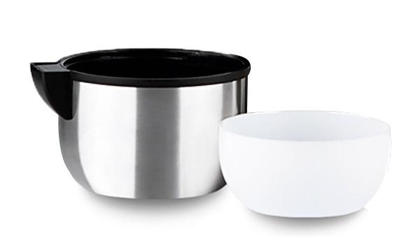 Термос универсальный (для еды и напитков) Арктика (0,5 литра) с широким горлом, стальной