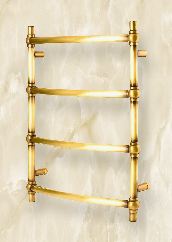 Garsia Brenta - полотенцесушитель в стиле ретро состаренная бронза