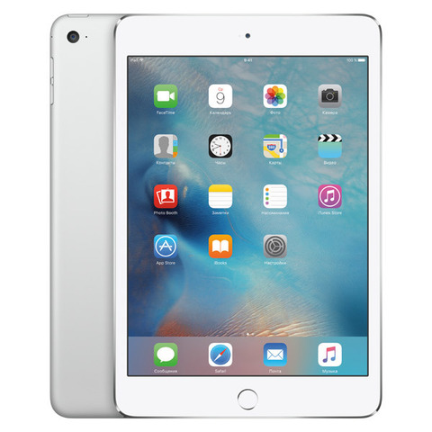 iPad mini 4 Wi-Fi 32GB Silver