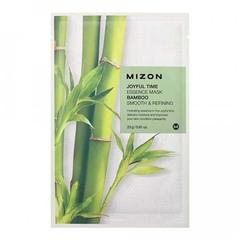 Mizon Joyful Time Essence Mask Bamboo - Тканевая маска для лица с экстрактом бамбука