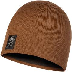 Шапка вязаная с флисом Buff Hat Knitted Polar Solid Tundra Khaki