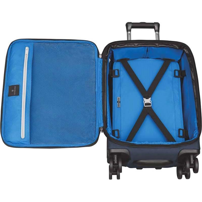 Чемодан Victorinox Werks Traveler 5.0 Dual-Caster 20'', синий, 36x23x51 см, 41,3 л