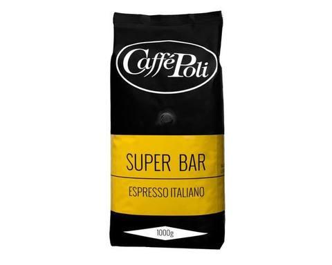 Кофе в зернах Poli Superbar, 1 кг (Каффе Поли)