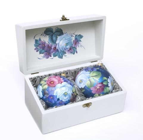 Набор из 2 елочных шаров шкатулке SET04D-667785864