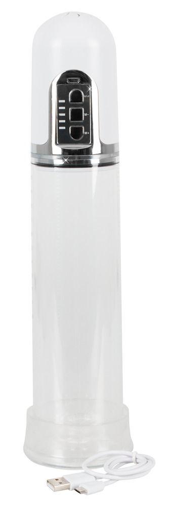 Вакуумные помпы: Белая автоматическая вакуумная помпа Mister Boner