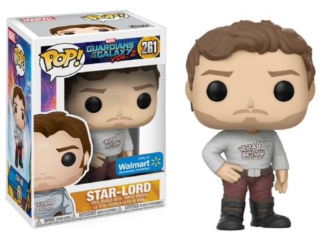 Фигурка Funko Pop! Marvel: Guardians of the Galaxy Vol. 2 - Star-Lord (Excl. to Walmart)