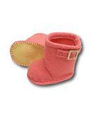 Сапожки-угги из фетра - Розовый. Одежда для кукол, пупсов и мягких игрушек.