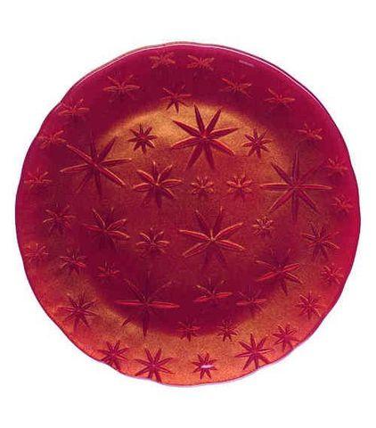 Блюдо 32см красное Nachtmann Stars