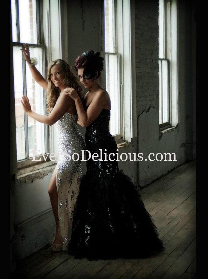 Юлия и Елизавета в платьях Jovani