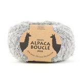 Пряжа Drops Alpaca Boucle 5110 светло-серый