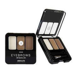 ABSOLUTE NEW YORK Тени для бровей HD Eyebrow Kit