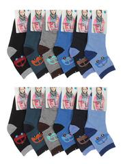 C169 носки детские, цветные (12шт)