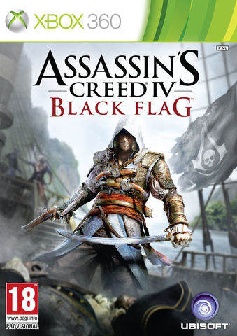 Xbox 360 Assassin's Creed IV: Black Flag (Xbox 360 - Xbox One, английская версия)