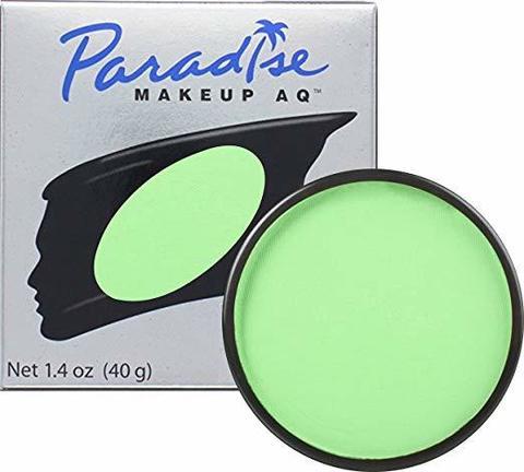 MEHRON Профессиональный аквагрим Paradise, Аквагрим Lt. Green (Светло-зеленый), 40 г