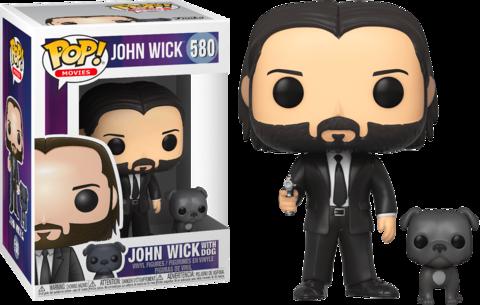 Фигурка Funko Pop! Movies: John Wick - John Wick with Dog