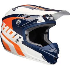 Ricochet Youth Helmet / Детский / Оранжево-синий