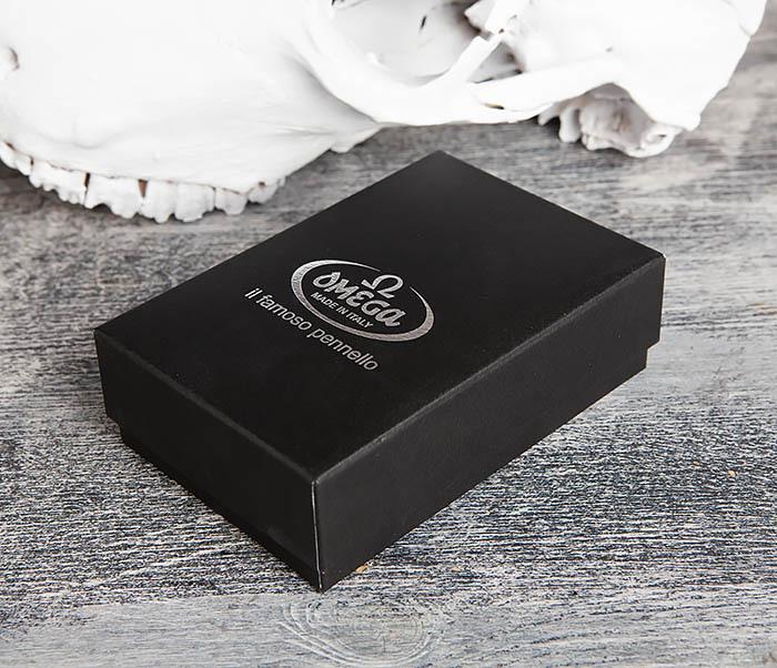 RAZ614 Дорожный складной помазок Omega в подарочной коробке фото 03