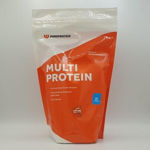 Мультикомпонентный протеин вкус Сливочная карамель PUREPROTEIN