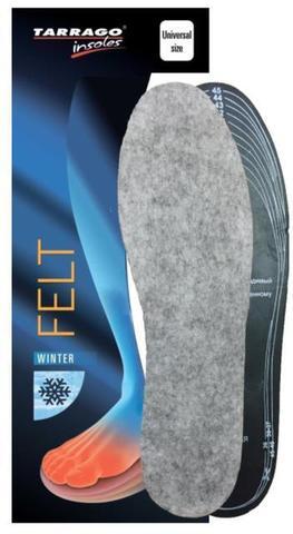 Зимние войлочные стельки на латексной основе, IW1261 Tarrago FELT Б/Р