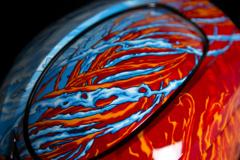 Мотошлем - ICON AIRMADA ELEMENTAL (оранжево-голубой)