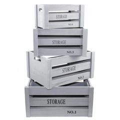 набор из 4-х ящиков 41x31x20,36x26x18,31x21x16,26x16x14