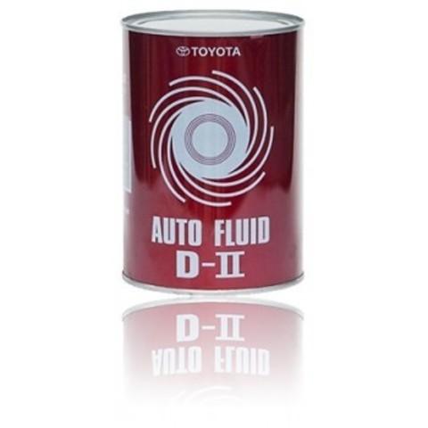 TOYOTA ATF D-II Жидкость трансмиссионная АКПП красная (Япония)