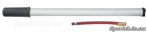 Ручной велосипедный насос (длина 40 и диаметр 2.5 см) с алюминиевым корпусом