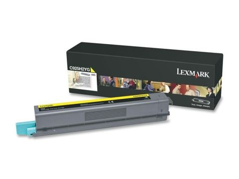 Картридж для принтеров Lexmark C925 желтый (yellow). Ресурс 7500 стр (C925H2YG)