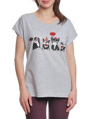 37662-13-2 футболка женская, серая