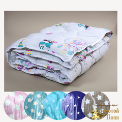 Одеяло детское шерстяное стеганное (110х140) 191005-РК-3084