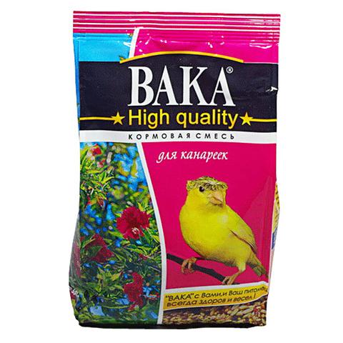 Вака Hight Quality корм для канареек 500г