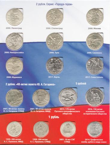Юбилейные монеты России